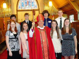 Confirmation Class at St. Mark's, Orchard Park