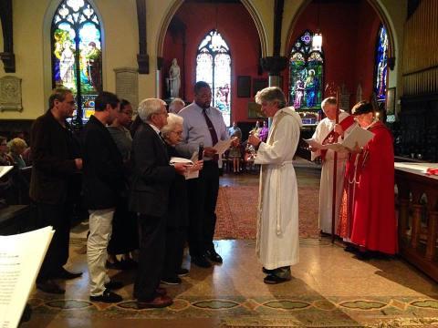 Trinity,Buffalo celebration of new ministry